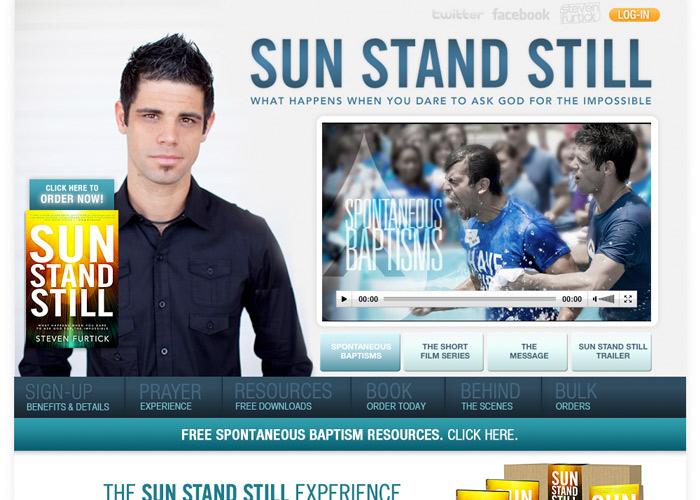 Sun Stand Still homepage
